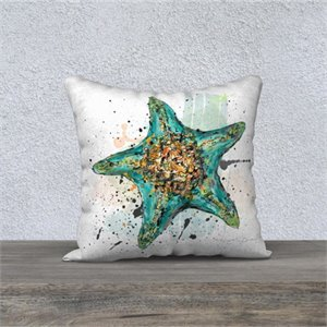 Sea star cushion  18X18