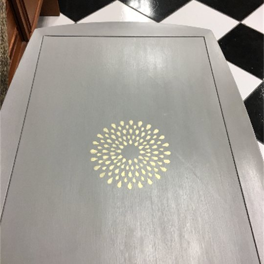 Golden Grey Table