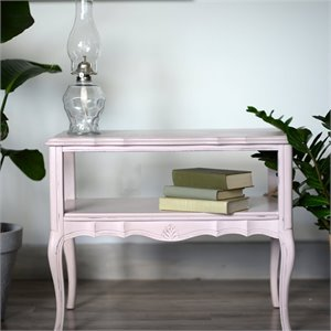 Table basse rose ''Rosalie''