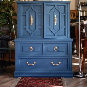 Commode ''Monsieur Boho'' - Aubusson Blue - VENDU